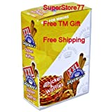 SuperStore77 XXL Royal 1 Box Chicken & Waffles 25ct 2 Pack Paper Wrap Free Grinder Gift