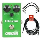 Maxon OD808 Overdrive Pedal OD-808 w/ 3 Cables