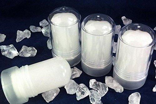 3 (tre) pezzi Allume di Potassio/Allume di Rocca Stick 120 gr. totale 360 g (peso netto)