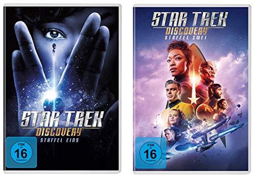 Star Trek - Discovery - Staffel 1 + 2 im Set - Deutsche Originalware [10 DVDs]