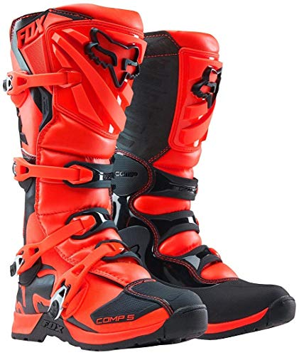 Fox Kids Motocross-Stiefel Comp 5Y Orange Gr. 36