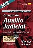 Test y Simulacros de Examen. Cuerpo de Auxilio Judicial. Administración de Justicia.