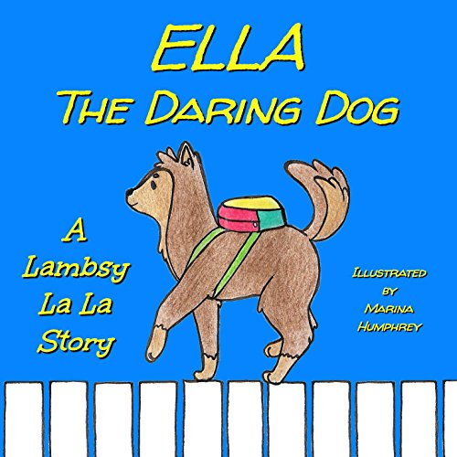 Ella The Daring Dog audiobook cover art