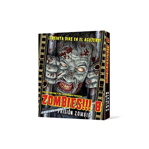 Edge UBIZB08, Juego de tablero - Zombies 8 Prisión zombie