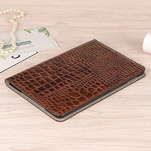 RZL PAD & TAB cases New Coque for iPad MINI 4 MINI 5 2019 Luxury Crocodile Case PU Leather Folio Card Slot For iPad MINI 4 5 2019 Luxury Case 7.9'' (Color : Mini 4 5 Brwon)