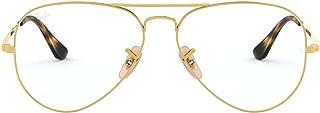 Ray-Ban RX6489 Aviator Metal Eyeglass Frames