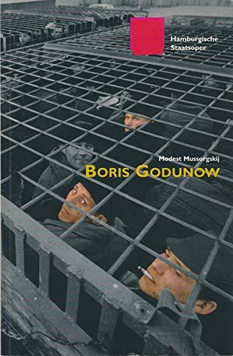 Programmheft Modest Mussorgskij BORIS GODUNOW Premiere 28 Januar 2001 Spielzeit 2000 / 2001