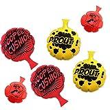 HUALEDI [6 Pack] Furzkissen Kissen , Whoopee Cushion Kissen Scherzartikel Party Favor für [4,6,8 Zoll] [Novelty Trick Joke] Geschenk und Spielzeug für Kinder Erwachsene Büro zu Hause