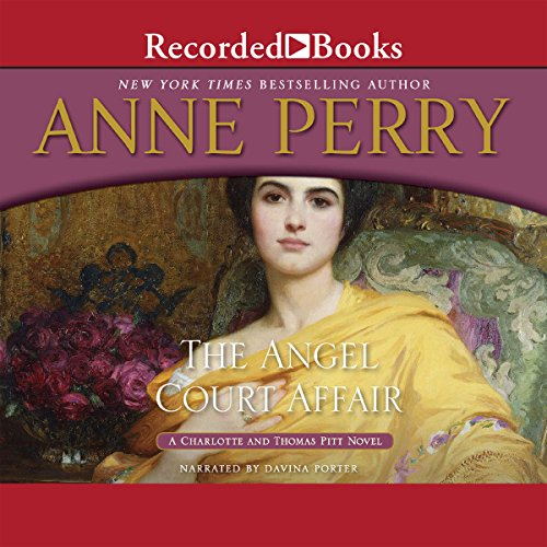 The Angel Court Affair audiobook cover art