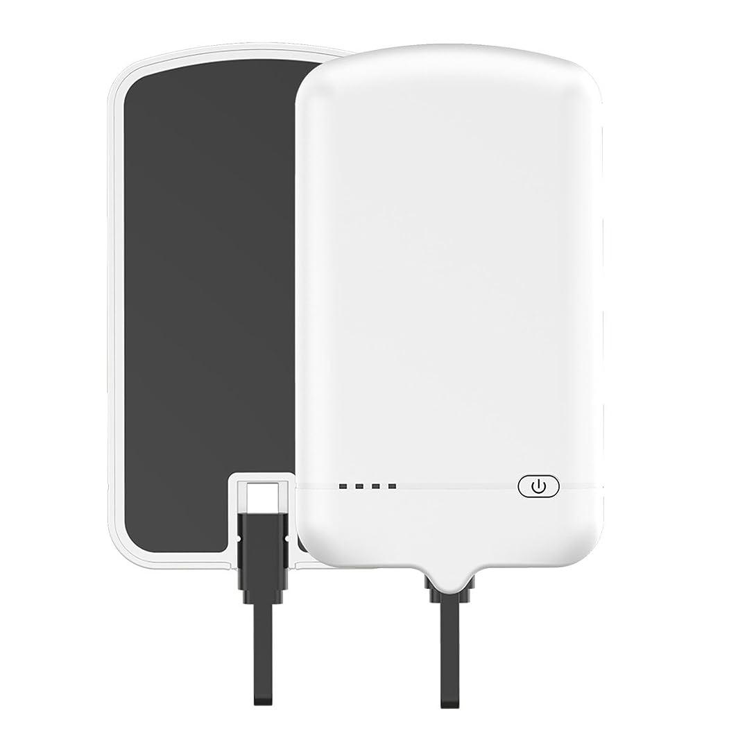 告白ブルゴーニュ求める超スリムバッテリーケースカバー携帯電話ケース Happon [Anti-Slip] バンパー 設計 - White