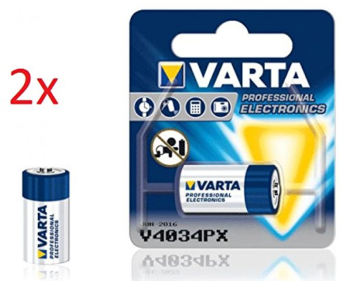 VARTA FOTO BATTERIEN PHOTOZELLEN FÜR KAMERAS UND FOTOAPPARATE / 2CR5 / CR-P2 / V28PX - V28PXL / CR-V3 / V74PX - V76PX / V4034PX / CR-1-3 / CR123A / CR 2 NEU & OVP IM EINZELBLISTER (V4034PX, 2 Stück)