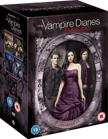 Crónicas vampíricas / The Vampire Diaries (Seasons 1-5) - 25-DVD Box Set ( The Vampire Diaries - Seasons One to Five ) [ Origen UK, Ningun Idioma Espanol ]