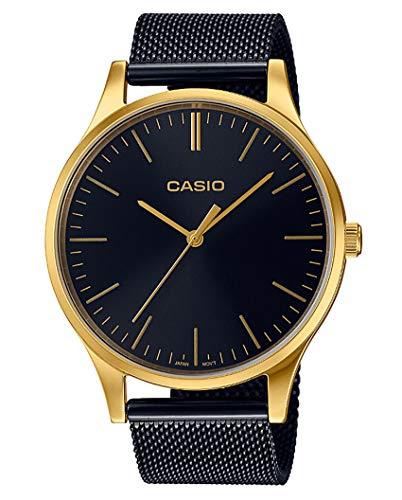 Casio Femmes Analogique Quartz Montre avec Bracelet en Acier Inoxydable LTP-E140GB-1AEF