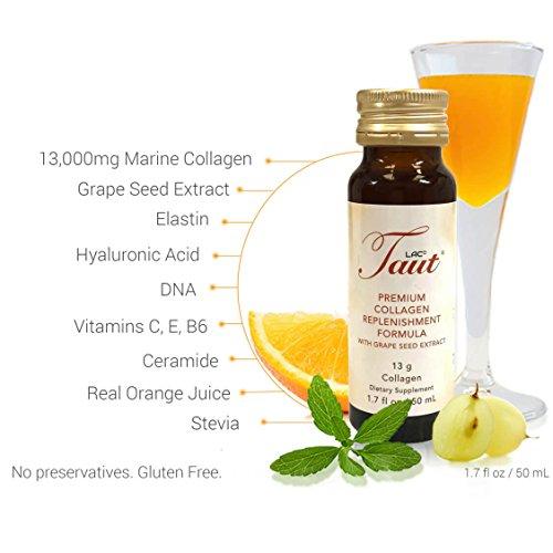 Taut Premium Collagen Replenishment Formula (2 Boxes Containing 8 bottles per box)