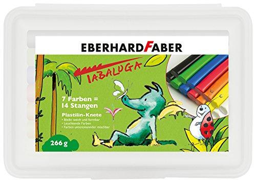 Eberhard Faber 572014 - Plastilin Knete Box Tabaluga, 14er Set