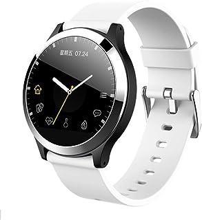 Relojes Inteligentes Mujer Hombre, Smartwatch Pulsera Inteligente con Pulsómetro Podómetro Pulsera Actividad Inteligente con Monitor de Sueño,D