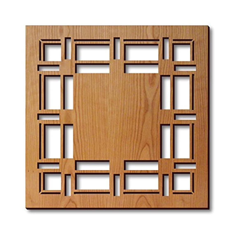 Frank Lloyd Wright D. D. Martin House Hardwood Trivet
