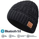 EVERSEE Bluetooth Beanie Hat, 5.0 Bluetooth Hat, Inalmbrico Auricular Gorro con estreo HD...
