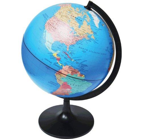 Elenco Edu-Toys EDU36899A Desktop Political Globe, 11-Inch
