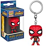 Spiderman Marvel Comics - Llavero de vinilo, diseño de Los Vengadores Infinity War