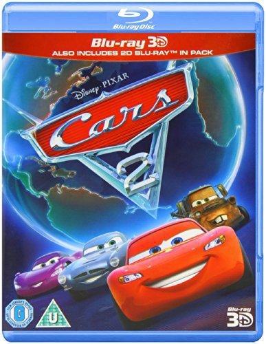 Cars 2 [Blu-ray 3D + Blu-ray] [2007] [Region Free]