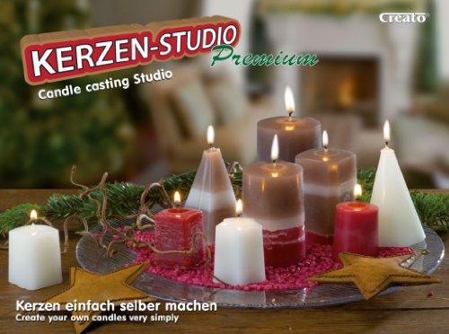 Creato Kerzengieß Set Premium, 8 Formen 45-93 mm