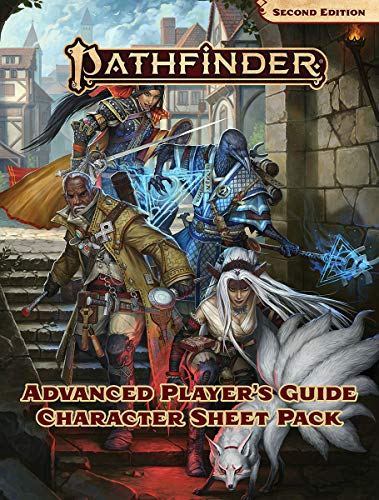 Pathfinder Advanced Player's Guide Character Sheet Pack (P2)