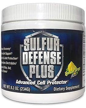 Sulfur Defense Plus  Organic Sulfur & Vitamin C   30 Servings