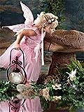 Pintar por Numeros Ángel princesa linda rosa DIY Cuadro al óleo con números para Kit de Pintura al óleo Digital para Adultos y niños de Lienzo decoración para el hogar 40x50cm Sin Marco