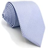 SHLAX&WING Einfarbig Light Violett Lavender Herren Krawatte Suits Dünne 6cm