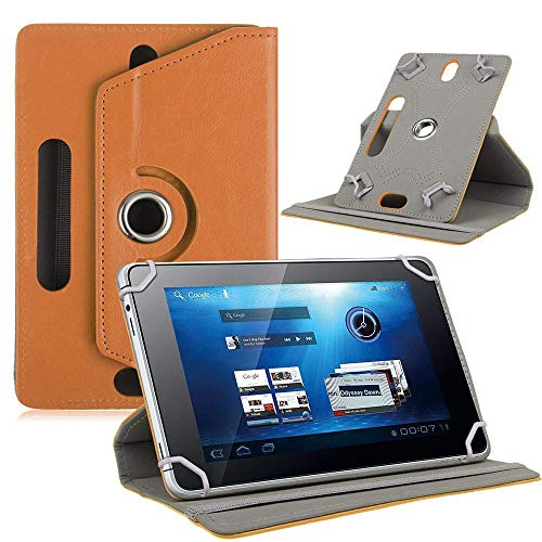 MeterMall 7/8/9/10 Inch Universele 360 Graden Roterende Vier Haak Lederen Tablet Beschermhoes 10 inch BRON