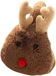 ETbotu Ear Muffs Unisex Cute Christmas Elk Comfortable Adjustable Winter Warm Earmuff Outdoors