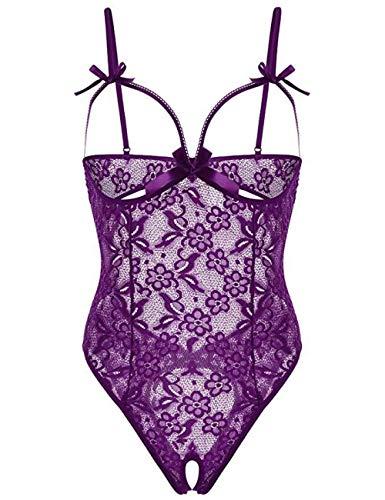 Promworld Copricapezzoli,Vestito Capodanno Donna Sexy,Sling Sexy Vestito Viola_s