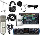 PreSonus Studio 24c 2x2 USB Type-C Audio/MIDI Interface Studio Bundle with Studio One Artist Software Pack
