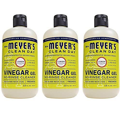 Mrs Meyers Clean Day Vinegar Gel Cleaner, Lemon Verbena, 12 oz, pack of 3