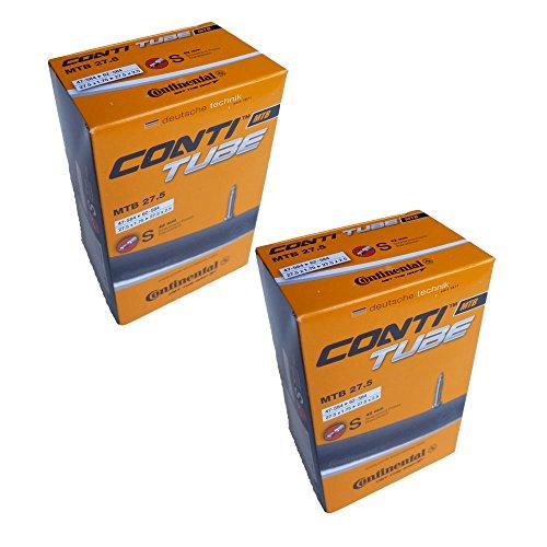 Continental MTB 27,5 x 2 Chambre à Air pour VTT Valve Presta 650B