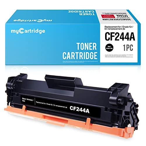 MyCartridge Compatible con HP 44A CF244A Cartucho de Tóner Negro para HP Laserjet Pro M15a M15w M16 M17a M17w MFP M28a MFP M28w MFP M30a MFP M30w