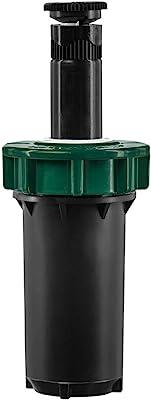 """Orbit 54500 2"""" Professional Hard-Top Adjustable Pop-up Sprinkler, Black"""