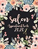 Salon appointment book  2020: Floral Watercolor  Daily and Hourly  Salons, Spas, Hair Stylist, Beauty, Esthetics, Beauty  client  Schedule 15 Minute ... (My Salon appointment book 2020-2030)
