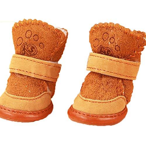 BXGZXYQ Nueva Huella De Piel De Cordero Huellas Zapatos Otoño E Invierno...