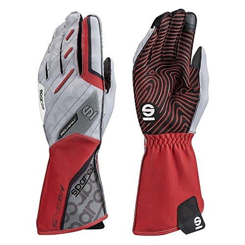 Sparco 00255208RS Bewegung Handschuhe Kg-5 Tg. 08 Red, rot