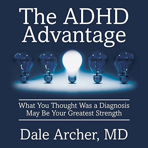 The ADHD Advantage audiobook cover art