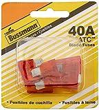 Bussmann (BP/ATC-40-RP) 40 Amp ATC Blade Fuse, Pack of 5 (25 Fuses)