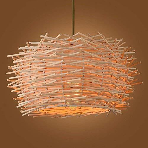Kroonluchter Exquisite Creative Chandelier solide bamboe nest lantaarn (grootte: diameter 40 cm)