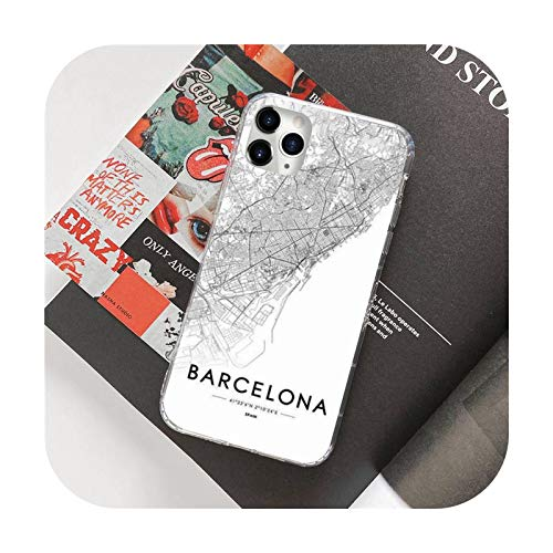 Ins Travel Country Sketch City Map Phone Case For 12 5 5s 5c se 6 6s 7 8 plus x xs xr 11 pro max-a4-For iphone XR