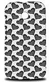 Love Heart Valentine Pattern 3 Hard Phone Case Cover for Motorola Moto E (1st Generation)
