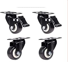 WSWJ Heavy Mute zwenkwielen Casters Flatbed (Color : B, Size : 2.5 inch)