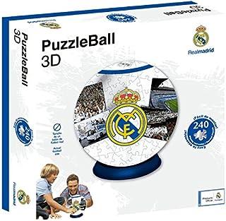Real Madrid Puzzleball CF (Tamaño Balón) 8,4 (63690), Multicolor, Ninguna