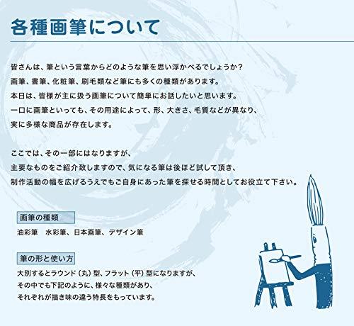 ナムラデザイン筆タヌキ面相小
