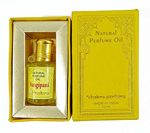 Chakra 100% reine natürliche Parfüm Duft Frangipani Öl 10ml